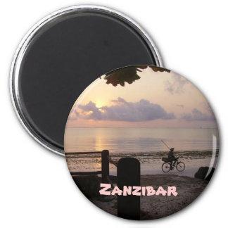 Alvorecer de Zanzibar Imãs De Geladeira