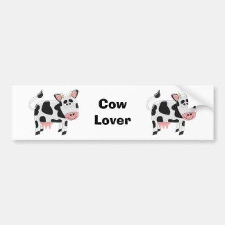 Amante da vaca adesivo para carro