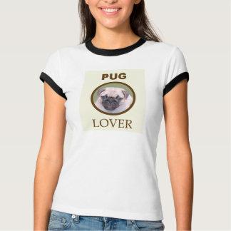 Amante do Pug Camisetas