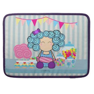 """Amante dos doces 15"""" caixa da luva de Macbook pro Bolsa Para MacBook"""