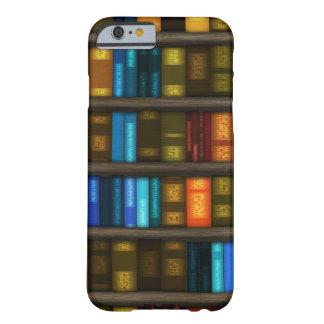Amantes de livro & livros coloridos dos capa barely there para iPhone 6
