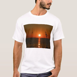 Amantes Florida chave do por do sol #2 Camiseta