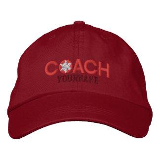 Amantes personalizados do treinador vermelhos boné