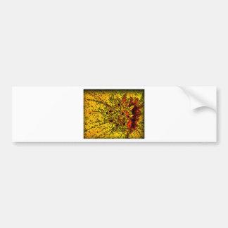 "Amarelo de ""ConchSalad"" e arte bonitos das laranja Adesivo Para Carro"