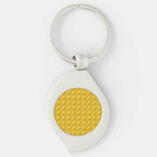 Amarelo do açafrão chaveiro