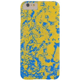amarelo e azul capa barely there para iPhone 6 plus