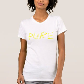 Amarelo puro camiseta