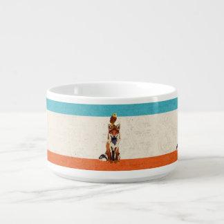 Amber Fox & Owl Chili Bowl