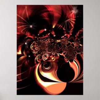 Ambiance do poster da arte abstracta