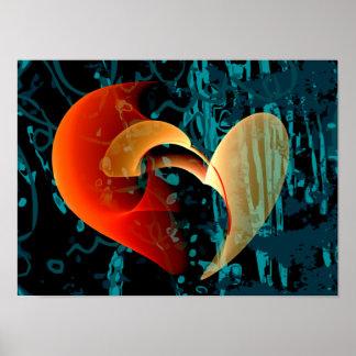 Ame-me arte fina do Fractal de Brago-Mitchell Poster