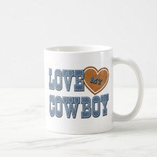 Ame meu vaqueiro caneca de café