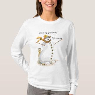 Ame meus netos Snowwoman Tshirts