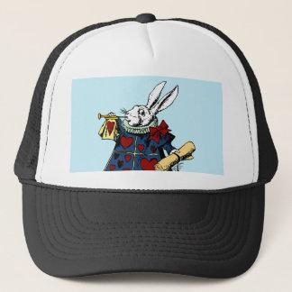 Ame o coelho branco Alice no país das maravilhas Boné