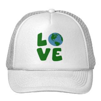 Ame o planeta da Mãe Terra Boné