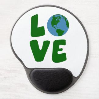 Ame o planeta da Mãe Terra Mouse Pad De Gel