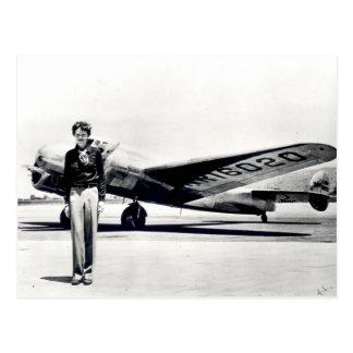 Amelia Earhart Cartão Postal