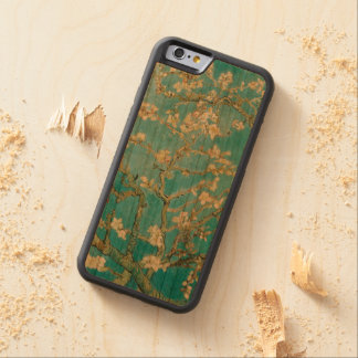 Amêndoa blossoms/st de PixDezines Van Gogh. remy Capa De Cereja Bumper Para iPhone 6