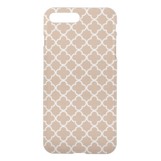 Amêndoa brindada e marroquino branco Patte de Capa iPhone 7 Plus