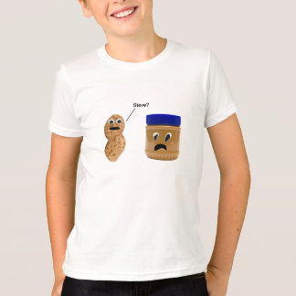 Amendoim engraçado camiseta