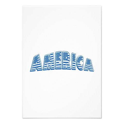 América azul convite