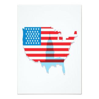 América Convite 12.7 X 17.78cm