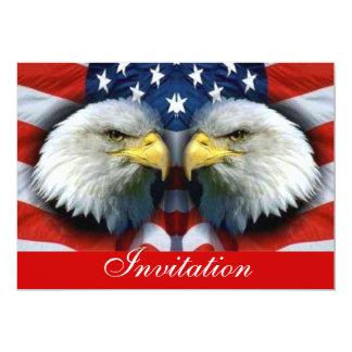 América corajosa & Strength_ Convite 12.7 X 17.78cm