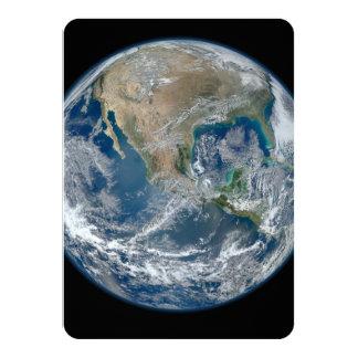 America do Norte do baixo satélite de órbita Convites
