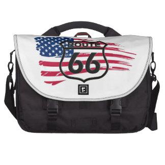 América rota 66 maleta para laptop