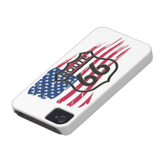 América rota 66 capa iPhone 4 Case-Mate