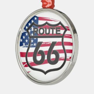América rota 66 ornamento para arvore de natal