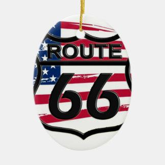 América rota 66 enfeite de natal