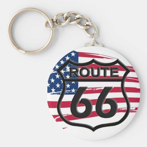 América rota 66 chaveiro