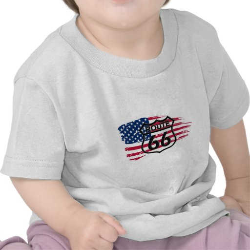 América rota 66 t-shirt