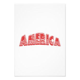 América vermelha convite personalizado