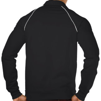American Apparel California Fleece blusão desporti Jaqueta Com Estampa