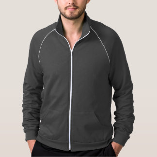 American California Fleece blusão desportivo Jaqueta Estampada