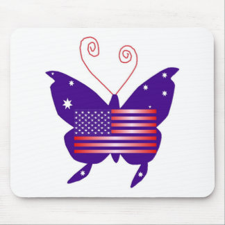 American Diva Butterfly Mouse Mat