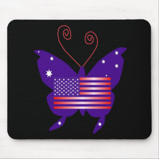 American Diva Butterfly Mouse Mats