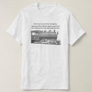 Americano Locomotiva Empresa 0-4-0 T Camiseta