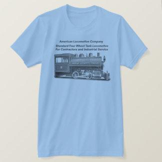 Americano Locomotiva Empresa 0-4-0 T Tshirt