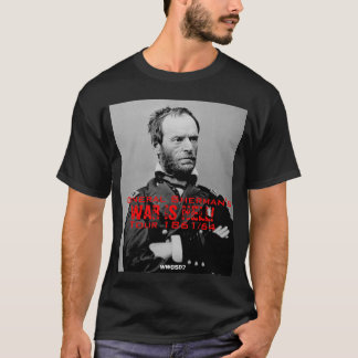 Americano Visita T-shirt do general Sherman