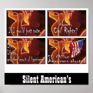Americanos silenciosos poster