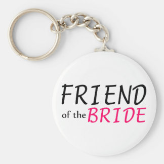 Amigo da noiva chaveiros