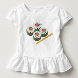Amigos do sushi camiseta infantil