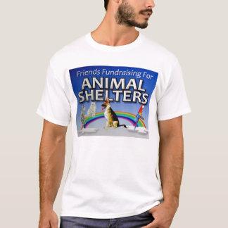 Amigos que Fundraising para os abrigos animais Camisetas