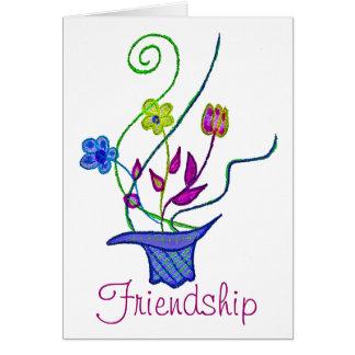 Amizade! Cartão Comemorativo