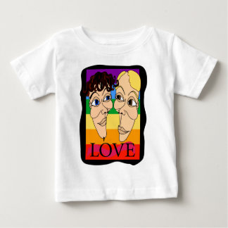 Amor (Alex & Fritz) Camiseta Para Bebê