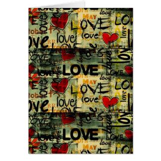 Amor Amor Amor Love Love Love Cartoes