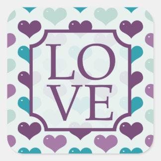 Amor Adesivo Quadrado