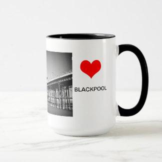 Amor Blackpool Caneca